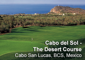 The Desert Course at Cabo del Sol