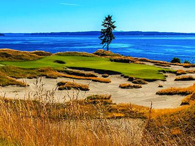 Chambers Bay Golf Club, Holes - 15, 16, 17