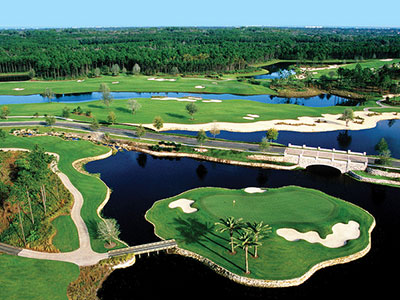 The Conservatory Course at Hammock Beach Resort, Hole 8