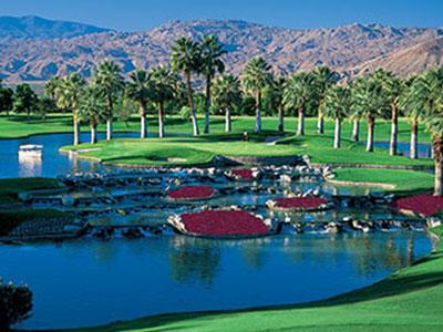 Marriott's Desert Springs - Palm Course, Hole #17