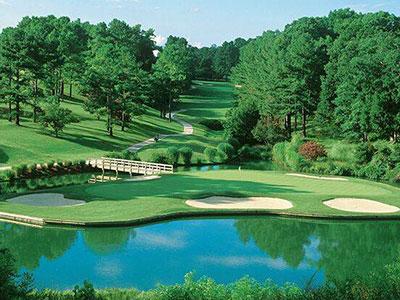 Golden Horseshoe Golf Club - Gold Course, Hole #16