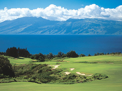 Kapalua Golf Resort - Plantation Course, Holes - 16, 17, 18