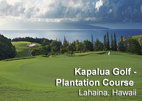 The Plantation Course at Kapalua