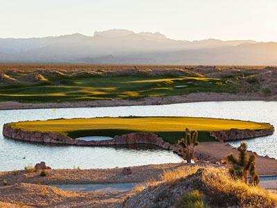 Las Vegas Paiute Golf Resort - Wolf, Hole #15