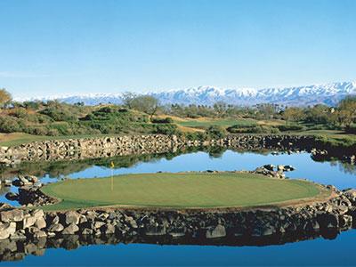 Stadium Course at PGA West, Hole #17