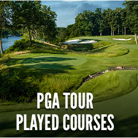 PGA TOUR Played Courses