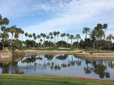The Phoenician Golf Club - Oasis Nine, Hole #8