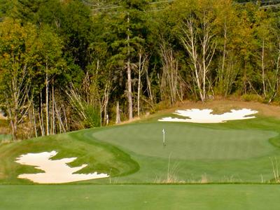Salish Cliffs Golf Club, Hole #3