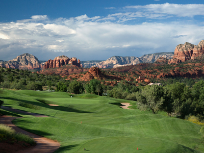 Sedona Golf Resort, Hole #10