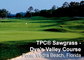 TPC Sawgrass - Dye's Valley Course