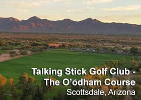 Talking Stick Golf Club - O'odham Course
