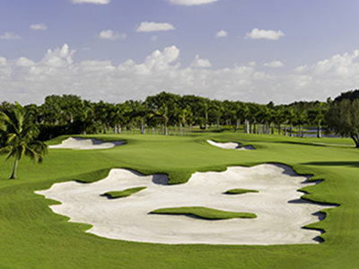 The Blue Monster Golf Course
