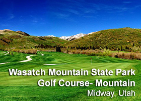 Wasatch Mountain State Park Golf Course - The Mountain Course
