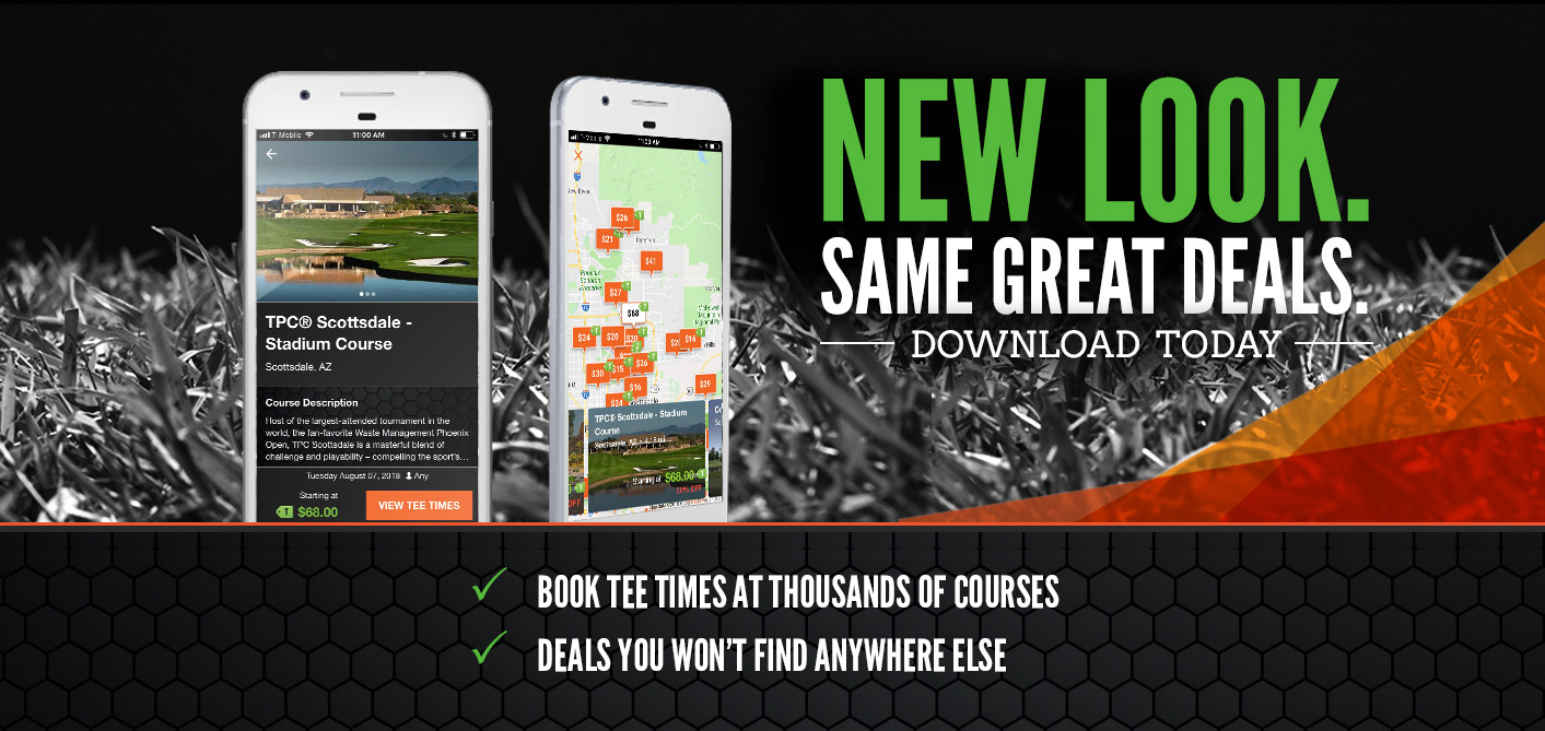 TeeOff App - Book  Tee Times at Thousands of Golf Courses