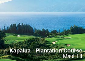 Kapalua - Plantation Course