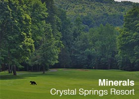 Crystal Springs Resort - Minerals