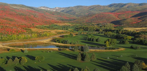 Wasatch Mt. State Park Golf Course - Mountain 1