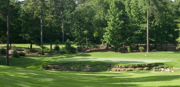 Dancing Rabbit Golf Club - Azaleas 1