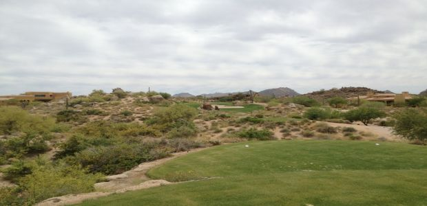 Troon North Golf Club - Pinnacle Course 12